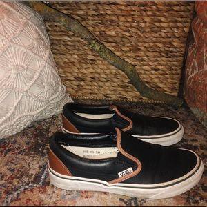 Custom leather VANS